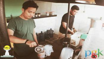 Perian Pratama Resign Kerja Bangun O'Bean Thai Tea