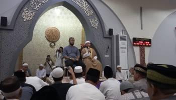 Peringatan Nuzul Quran di Masjid Agung Sungailiat Dihadiri Ulama Asal Mesir
