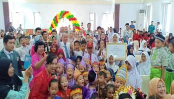 Peringati HAN, Molen Janji Bangun Fasilitas Anak