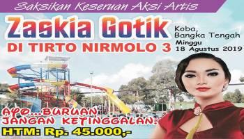 Peringati Hari Kemerdekaan, Zaskia Gotik akan Hebohkan Waterpark Tirto Nirmolo 3 Bateng
