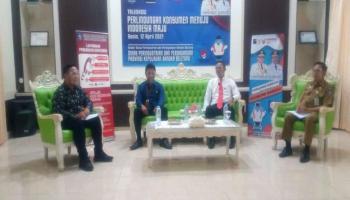 Peringati Harkonas ke-9, Disperindag Babel Gelar Talksow PK Menuju Indonesia Maju