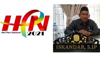 Peringati HPN 2021, Ketua DPRD Bangka: Media Apapun Sahabat Kita