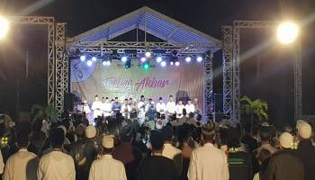 Peringati HUT Ke-43, PT Timah Gelar Tabligh Akbar di Belitung