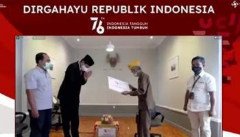 Peringati HUT Ke-76 Republik Indonesia, PT Timah Tbk Berikan Tali Asih Bagi 60 Veteran