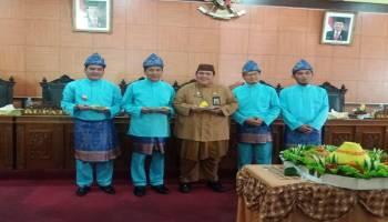 Peringati HUT Kota Koba ke 165, DPRD dan Pemkab Bateng Gelar Sidang Paripurna Istimewa