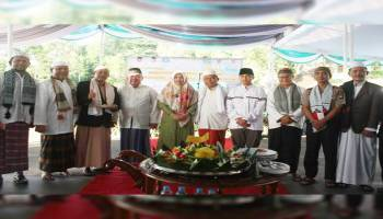 Peringati Milad ke 35, Bupati Minta Masjid Agung Jadi Pusat Sumber Ilmu Islam