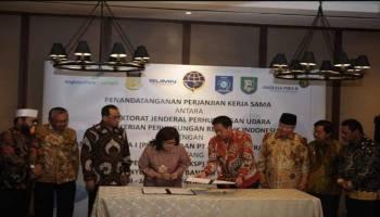 Perjanjian Kerja Sama Pemanfaatan Bandara HAS Hanandjoeddin Dorong Perkembangan Pariwisata dan Iklim Investasi