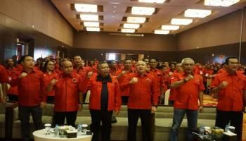 Perkuat Solidiaritas Antar Kader Menjelang Pilkada Serentak, DPD PDIP Bangka Belitung Gelar Rakerda I