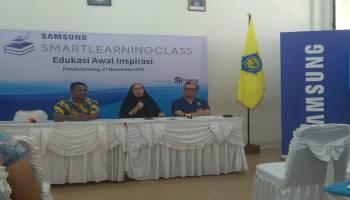 Pertama di Bangka Belitung, Samsung Smart Learning Class  Hadir di SMU Santo Yosef