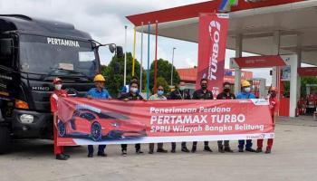 Pertamax Turbo Hadir di Bangka Belitung, Dapatkan di Tiga SPBU Ini