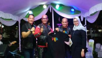 Peserta Bangka Bike Festival 2019 Kunjungi Kota Beribu Senyuman