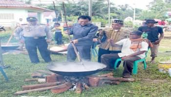Pesta Adat Dodol Bergema , Diharapkan Jadi Agenda Tahunan