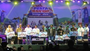 Pesta Rakyat Simpedes BRI di Pangkalpinang Berlangsung Meriah
