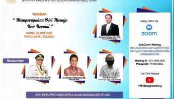 PHRI Babel Berbenah Hadapi New Normal, 100 Anggota Siap Ikuti Arahan Gubernur Babel