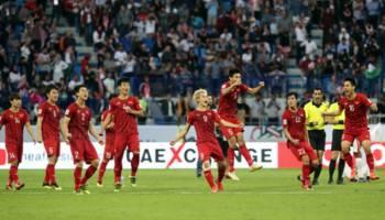 Piala Asia 2019: Drama Adul Pinalti, Vietnam Singkirkan Yordania
