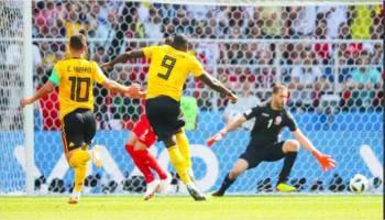 Piala Dunia 2018: Belgia Gilas Tunisia 5-2