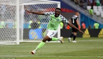 Piala Dunia 2018: Nigeria Bekuk Islandia 2-0