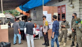 Pilkada Bateng: TPS 03 Kampung Tengah Koba Terjadi Kekurangan 50 Surat Suara