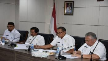 Pimpin Rapat Restrukturisasi Perangkat Daerah, Wagub Ajak Pejabat Struktural Berdiri Sendiri