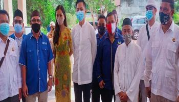 Pimpinan Partai Pengusung Dampingi Pasangan Aditya – Ahmad Damiri ke Kantor KPU Basel