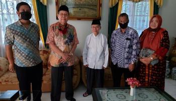 Pimpinan UBB Kunjungi Ketua PW Muhammadiyah Babel