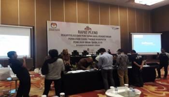 Pleno Kabupaten Bangka Tengah Ditargetkan Selesai Hari Ini