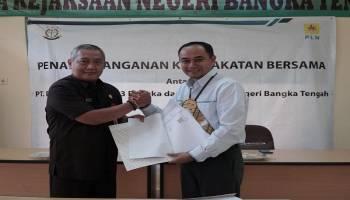 PLN Bangka Jalin Kerja Sama dengan Kejari Bangka Tengah Guna Tingkatkan Pelayanan