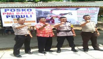 PMI Basel Buka Pos Peduli Bencana Alam Indonesia