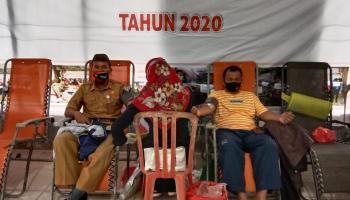 PMI Payung Berhasil Sumbangkan 400 Kantong Darah