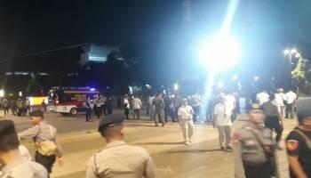 Polisi Katakan Ledakan di Parkir Timur Senayan Berupa Petasan
