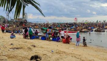 Polisi Usut Oknum yang Bekingi Tambang Ilegal di Perairan Toboali