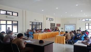Polres Babar Buka Sayembara Pelaporan Pelaku Pembakaran Hutan