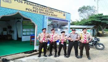 Polres Babar Siapkan Empat Pos Pengamanan Mudik