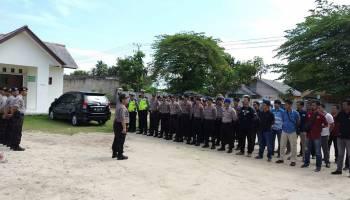 Polres Babar Terjunkan 81 Personel untuk Amankan Sidang Penistaan Agama