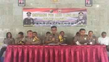 Polres Bangka Berhasil Tangani 354 Kasus Selama 2018