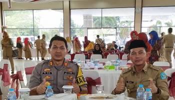 Polres Bangka Siap Mendukung Program Ketahanan Pangan Pemkab Bangka
