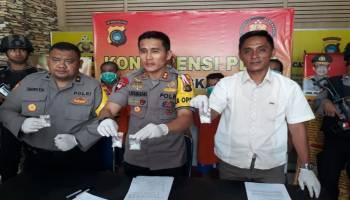 Polres Bangka Tengah Ringkus 4 Tersangka Narkoba, Satu Oknum PNS
