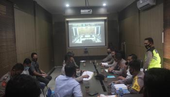 Polres Bateng Ikuti Pelatihan Laptra Ops, Polda Babel Beri Arahan Penting Menyambut Pilkada Serentak 2020