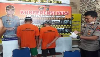 Polres Bateng Kembali Ungkap 2 Tersangka Kasus Narkoba Dalam Gelaran Operasi Non Antik
