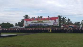 Polres Belitung Kerahkan 250 Personel Pengamanan Pemilu 2019