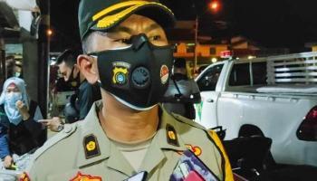 Polres Pangkalpinang Dukung Pemkot Beri Sanksi Bagi Pemilik Usaha Langgar Prokes