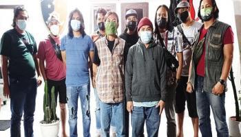 Polres Pangkalpinang Ringkus Pelaku Vandalisme Taman Vertikal