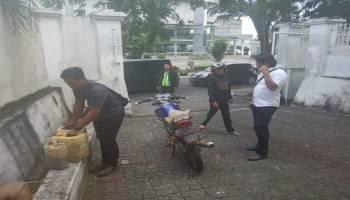 Polsek Bukit Intan Amankan Dua Pengerit BBM