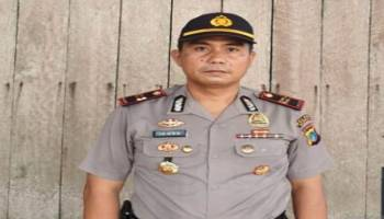 Polsek Riau Silip Jaga Gudang Logistik Pemilu 24 Jam