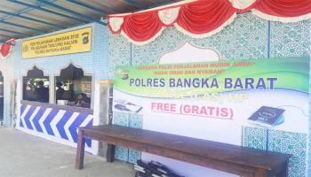 Pos Pelayanan Tanjung Kalian Sediakan Fasilitas Charge Handpone