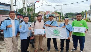 Posko Resmi Ditutup, BKPRMI Kabupaten Bangka Kumpulkan Rp 91 Juta Untuk Korban Tsunami Selat Sunda