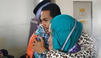 Potret Haru Pelepasan Jemaah Haji di Bandara Depati Amir Pangkal Pinang