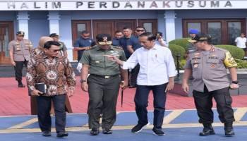Presiden Jokowi dan Ibu Negara Kunjungan Kerja ke Bangka Belitung