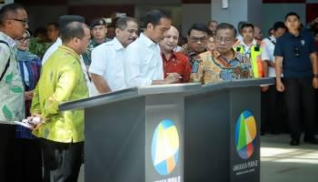 Presiden Jokowi Targetkan Bandara Depati Amir Bisa Tampung 5 Juta Penumpang