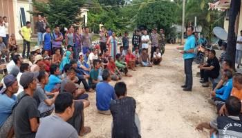 Pro Kontra Tambang Laut di Tanjung Labu, Puluhan Warga Datangi Polsek Lepar Pongok